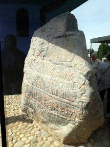 Harald Blåtands runesten - Den store Jellingsten.