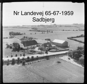 Sadbjerg, Nørre Landevej 65-67 - 1959