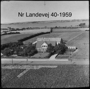 Bøgehoved, Nørre Landevej 40 - 1959