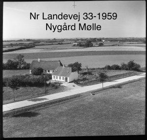 Nygård Mølle, Nørre Landevej 33 - 1959