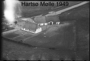 Hartsø Mølle - 1949
