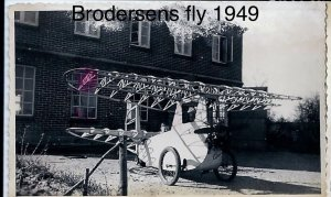 Brodersens fly - 1949