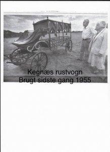 Kegnæs´ rustvogn - brugt sidste gang 1955
