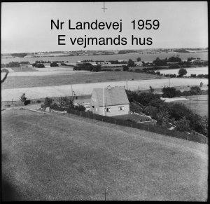 E Vejmands Hus, Nørre Landevej - 1959
