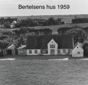 Bertelsens hus - 1959
