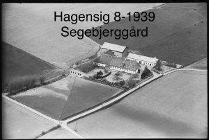 Segebjerggård, Hagensig 8 - 1939
