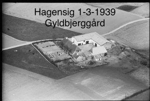 Gyldbjerggård, Hagensig 1-3 - 1939