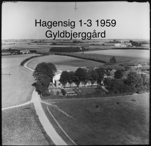 Gyldbjerggård, Hagensig 1-3 - 1959