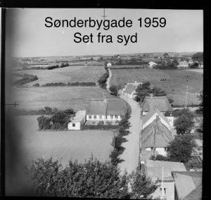 Sønderbygade, set fra syd - 1959